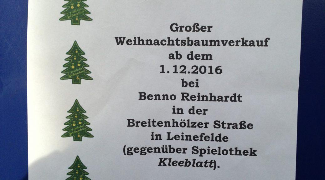 Weihnachtsbaum TSV