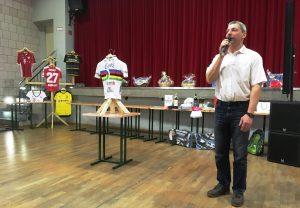 Versteigerung Weltmeistertrikot Stefan Bötticher